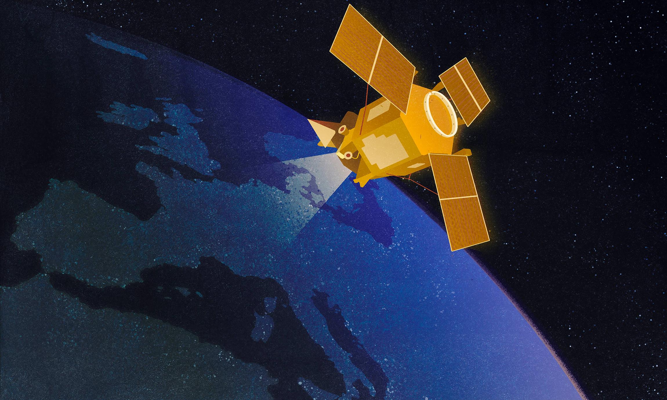 Space_satellite_A